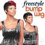 Sensationnel 100% Human Hair Free Style Bump Wig - HEYLIN