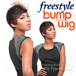 Sensationnel 100% Human Hair Free Style Bump Wig - POPPY