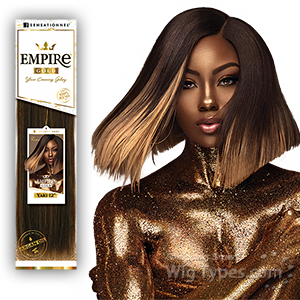 Sensationnel 100% Remi Human Hair Weaving - EMPIRE GOLD YAKI