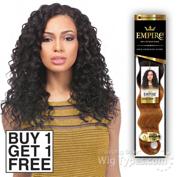 Sensationnel 100 human hair weaving empire loose deep 12 buy 1 sensationnel 100 human hair weaving empire loose deep 12 buy 1 get 1 pmusecretfo Gallery