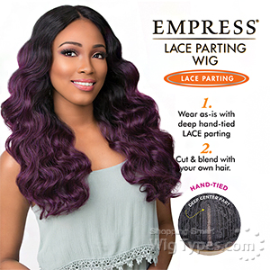 Sensationnel Synthetic Hair Empress Lace Parting Wig - DEE (futura)