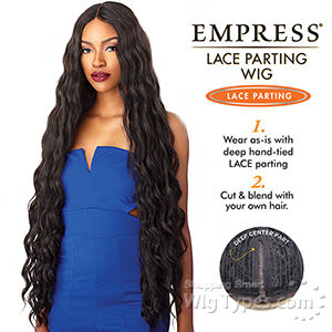 Sensationnel Synthetic Hair Empress Lace Parting Wig - ARIES