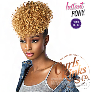 Sensationnel Curls Kinks & Co Synthetic Ponytail Instant Pony - GOAL DIGGER