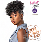 Sensationnel Curls Kinks & Co Synthetic Ponytail Instant Pony - GAME CHANGER