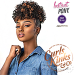 Sensationnel Curls Kinks & Co Synthetic Ponytail Instant Pony - RULE BREAKER
