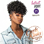 Sensationnel Curls Kinks & Co Synthetic Ponytail Instant Pony - SHOW STOPPER