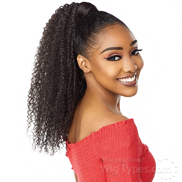 Outre Synthetic Pineapple Ponytail Timeless Softie