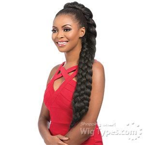 Sensationnel Synthetic Ponytail Instant Braid Pony - UPTOWN BRAID