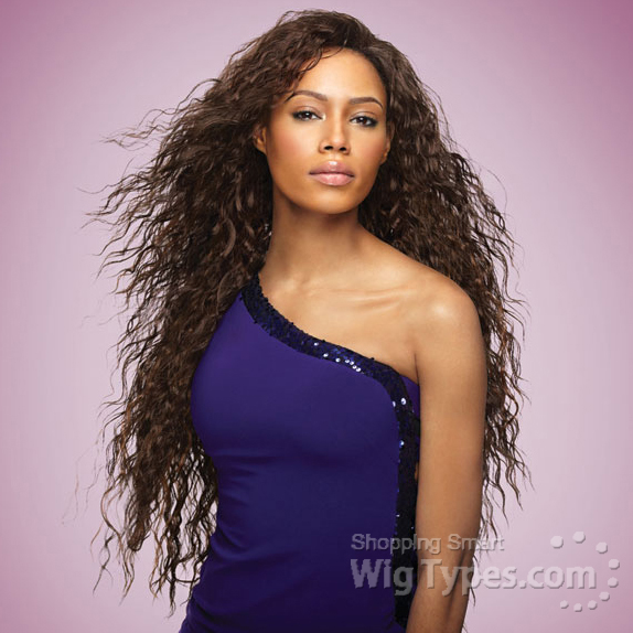 Sensationnel Synthetic Half Wig Instant Weave Tuscany Futura