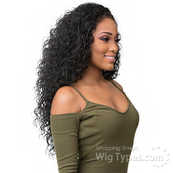 Sensationnel Synthetic Half Wig Instant Weave Boutique Bundles