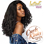 Sensationnel Curls Kinks & Co Synthetic Half Wig Instant Weave - HEART BREAKER