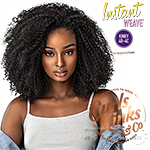 Sensationnel Curls Kinks & Co Synthetic Half Wig Instant Weave - GAME CHANGER (futura)