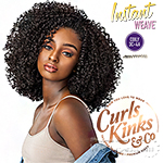 Sensationnel Curls Kinks & Co Synthetic Half Wig Instant Weave - RULE BREAKER (futura)