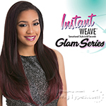 Sensationnel Synthetic Half Wig Instant Weave Glam Series - CINDY (futura)