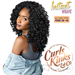 Sensationnel Curls Kinks & Co Synthetic Half Wig Instant Weave - MONEY MAKER