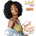 Sensationnel Curls Kinks & Co Synthetic Half Wig Instant Weave - ROLE MODEL