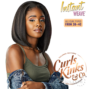 Sensationnel Curls Kinks & Co Synthetic Half Wig Instant Weave - BOSS BABE