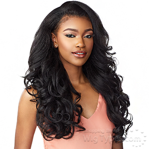 Sensationnel Synthetic Half Wig Instant Weave Drawstring  Cap - IWD 003