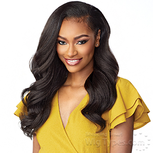 Sensationnel Synthetic Half Wig Instant Weave Drawstring  Cap - IWD 004