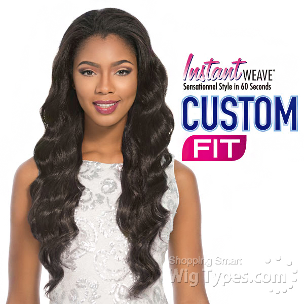 Sensationnel Stocking Cap Instant Weave Custom Fit Violet