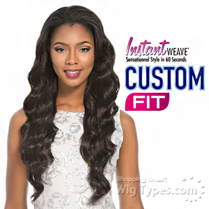Sensationnel Stocking Cap Instant Weave Custom Fit - VIOLET (Flexibility and Comfort)