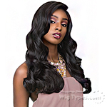 Sensationnel Human Hair Blend Cloud 9 Multi Parting Swiss Lace Wig - BODY WAVE 22 (futura)
