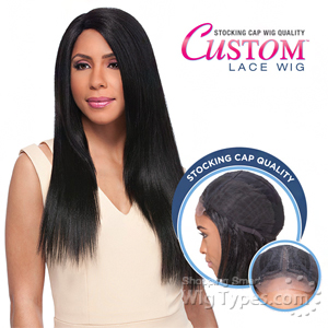 Sensationnel Stocking Cap Quality Custom Lace Wig - YAKI 24 (Hand-Tied Part w/ Multiple Parting Option)