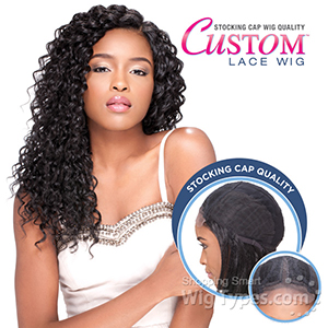 Sensationnel Stocking Cap Quality Custom Lace Wig - BOHEMIAN (Hand-Tied Part w/ Multiple Parting Option)