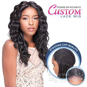 Sensationnel Stocking Cap Quality Custom Lace Wig - LOOSE DEEP (Hand-Tied Part w/ Multiple Parting Option)