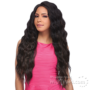 Sensationnel Synthetic Hair Empress Natural Curved Part Lace Front Wig - ADELE (futura)