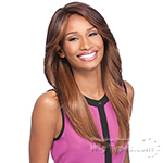 Sensationnel Synthetic Hair Empress Natural Curved Part Lace Front Wig - IRENE (futura)