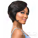 Sensationnel Synthetic Hair Empress Natural Curved Part Lace Front Wig - BECKY (futura)