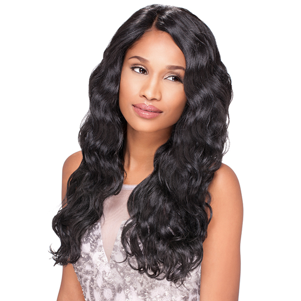 Sensationnel Stocking Cap Quality Custom Lace Wig - BODY WAVE (Hand-Tied Part w/ Multiple Parting Option)