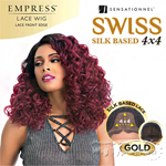 Sensationnel Synthetic Hair Empress Swiss Lace Wig - CAROL (4X4 Silk Based Lace)