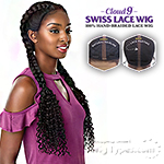 Sensationnel Synthetic Cloud 9 Swiss Lace Wig - BOHEMIAN DUTCH BRAID