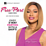 Sensationnel Synthetic Hair Empress 3 Way Free Part Lace Wig - DAISY (futura)