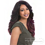 Sensationnel Synthetic Hair Empress Natural Curved Part Lace Front Wig - EDINA (futura)