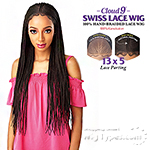 Sensationnel Cloud 9 Synthetic Hair 13x5 Lace Parting Swiss Lace Wig - FULANI CORNROW