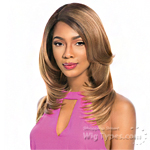 Sensationnel Synthetic Hair Empress Natural Curved Part Lace Front Wig - GIANNA (futura)