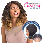 Sensationnel Stocking Cap Quality Custom Lace Wig - GLAM LOOSE (Hand-Tied Part W/ Multiple Parting Option)