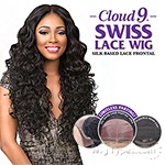 Sensationnel Human Hair Blend Cloud 9 Silk Based Swiss Lace Frontal Wig - JOANNE (futura)