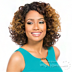 Sensationnel Synthetic Hair Empress L Part Lace Front Wig - JOYFUL (futura)