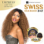 Sensationnel Synthetic Hair Empress Swiss Lace Wig - KELLY (4X4 Silk Based Lace)