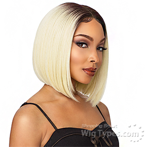 Sensationnel Synthetic Hair Empress Natural Center Part Lace Front Wig - KELSEY