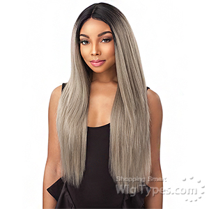 Sensationnel Synthetic Hair Empress Natural Center Part Lace Front Wig - KIA (futura)