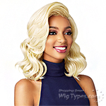 Sensationnel Synthetic Hair Empress Natural Curved Part Lace Front Wig - KRISTEN