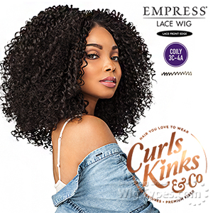 Sensationnel Curls Kinks & Co Synthetic Hair Empress Lace Front Wig - RULE BREAKER