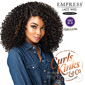 Sensationnel Curls Kinks & Co Synthetic Hair Empress Lace Front Wig - SHOW STOPPER (futura)