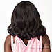 Sensationnel Synthetic Hair Empress Natural Curved Part Lace Front Wig - LUNA