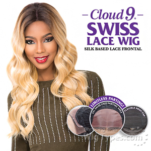 Sensationnel Cloud 9 Human Hair Blend Silk Based Swiss Lace Frontal Wig - MARIA (futura)
